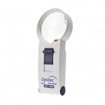 Optelec Powermag Halobright Smd Led Hand Held Magnifier