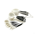 GRIP-EZ MEASURING CUPS & SPOONS, SET OF 12