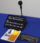 Revo2Go All-in-one Portable Magnifier, Android Tablet and OCR