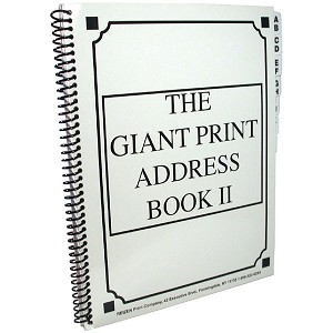 The Giant Print Address Book II