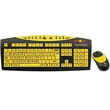 Big Keys Wireless Keyboard & Mouse