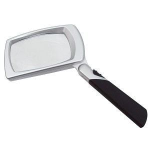 "LED Lighted Magnifier-3x (2"" x 3"")"
