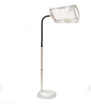 Lighted Magnifier/Floor Lamp