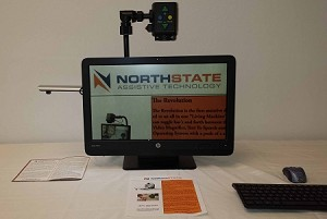"NorthState Revolution 22"" All-in-One Magnifier with Android Tablet Computer"